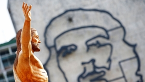 En la misa celebrada por el Papa Francisco en La Habana en octubre de 2015. Foto AFP